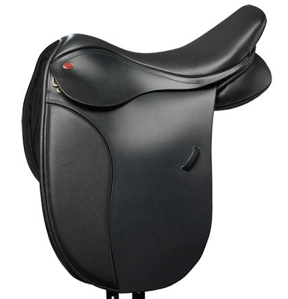 how to sit properly in a dressage saddle