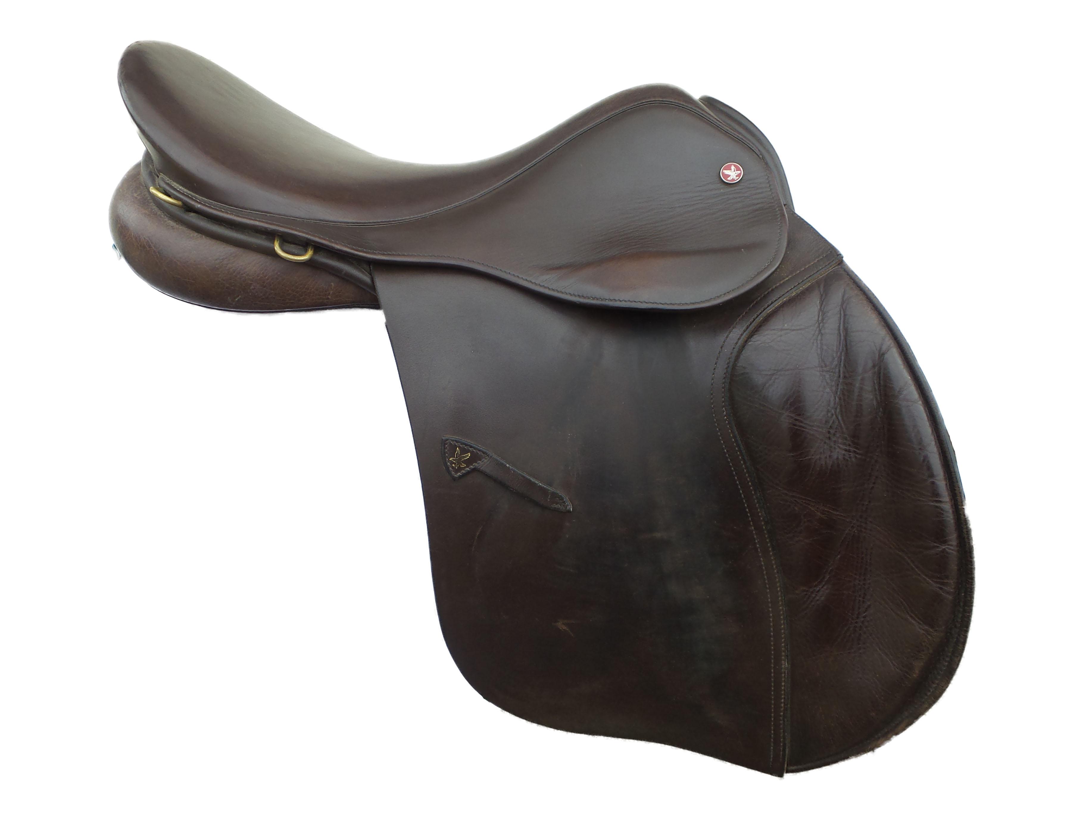 RRP £82.90 Pony Size Jeffries English Falcon Running Martingale Black
