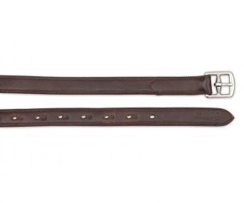"Kids Childs 48/"" Stirrup Leathers /& 4"" Stirrups Irons w Pads English Saddle BLACK"